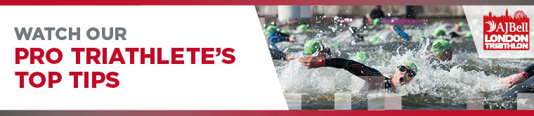 Proud title sponsor of the AJ Bell London Triathlon 2017