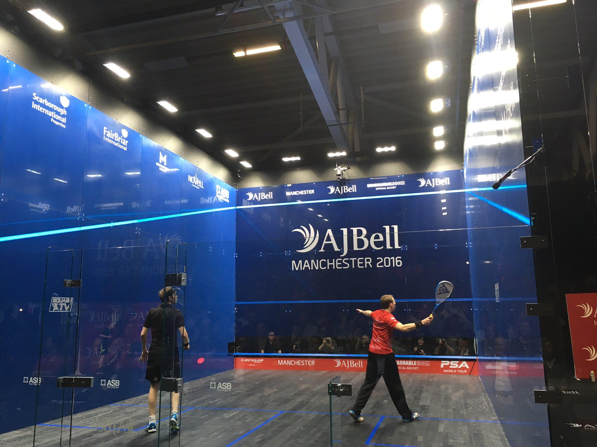 Squash   AJ Bell